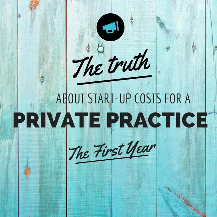 Costs for starting a counseling practice — Private Practice Experts Kelly & Miranda http://zynnyme.com