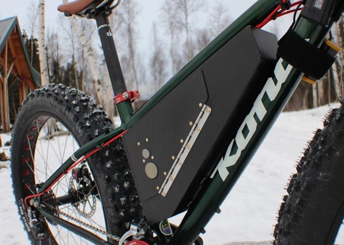 AK CODEPAK Aluminium And Carbon Fiber Bike Storage Containers
