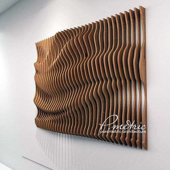 Parametric Panno Arty Farty Wooden Art Woodworking