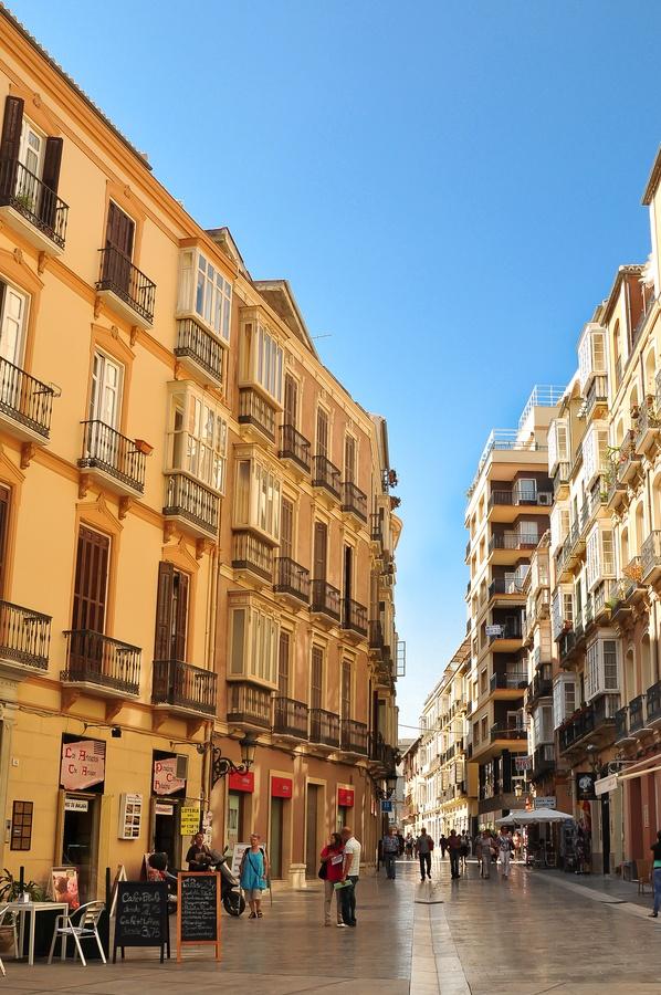 Calle Císter. Málaga, España