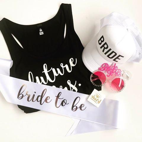 Future Mrs. & all her friends 💕😎💕 #brideonfleek #nzmade