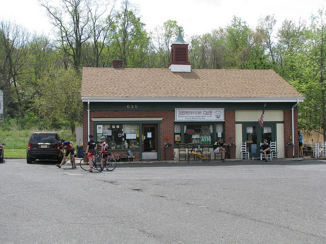 Meyersville Cafe, Great Swamp New Jersey. Post ride burritos a specialty.