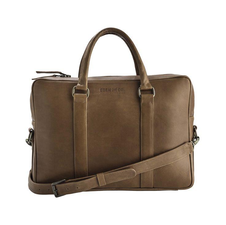 the KLASSIK laptop briefcase by Eden & Co - timeless elegance, world class quality.   #leatherisforever #proudlyEden