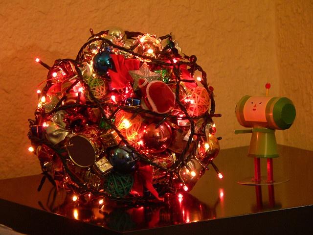 An alternative Christmas tree Katamari style this is amazing