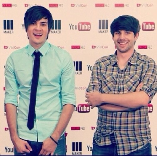 how did ian and anthony from smosh meet