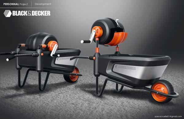 Black & Decker cement mixer by pascal ruelle, via Behance