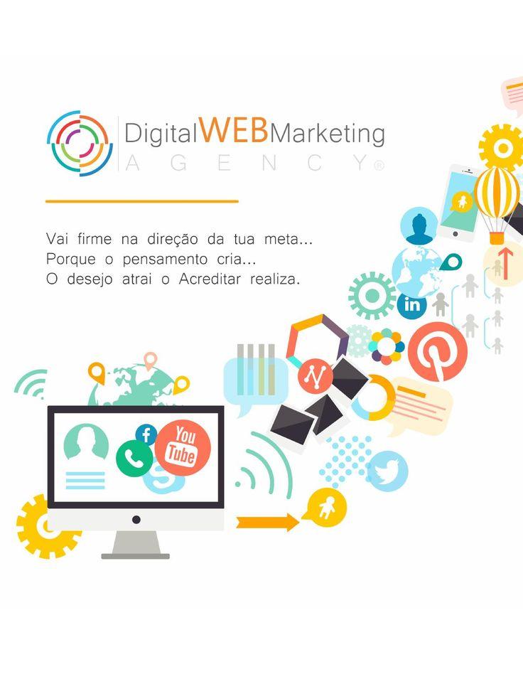 Quem Somos... - Digital Web Marketing  A DWM assume uma posição de parceria com todas as empresas portuguesas no processo de entrada na Economia Digital, formando-as, colocando em prática os conhecimentos adquiridos sobre ferramentas tecnológicas, modelos de negócio, marketing e comunicação digital, comércio eletrônico, e todas as boas práticas inerentes a um posicionamento profissional, neste mercado digital.
