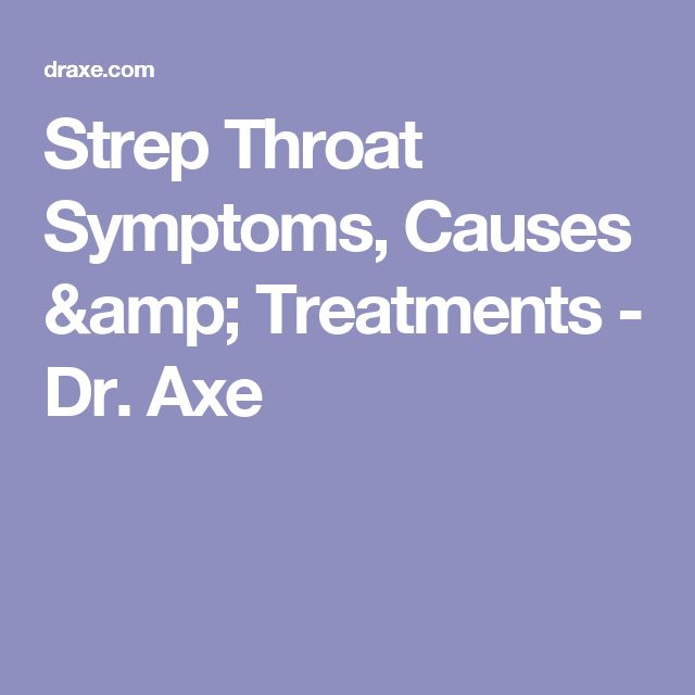 Adult in recurring strep throat-1353