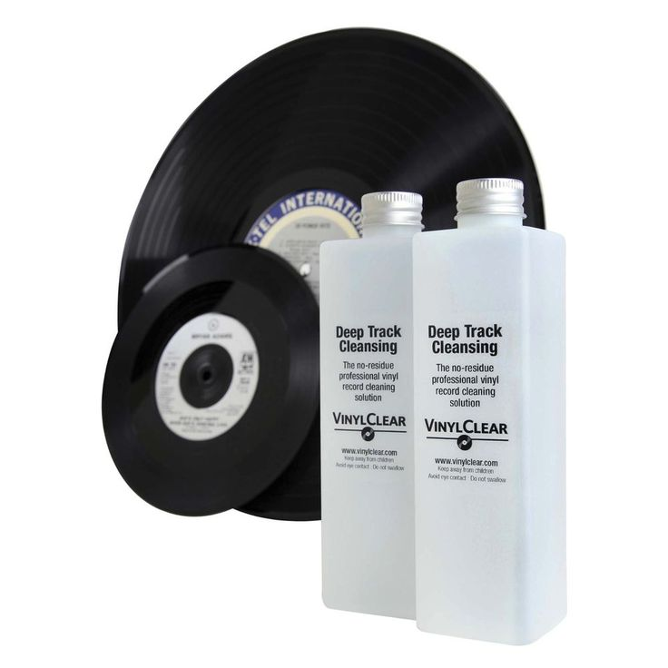 VinylClear Vinyl Record Cleaner LP Antistatic Cleaning Solution - 2 x 250ml #VinylClear