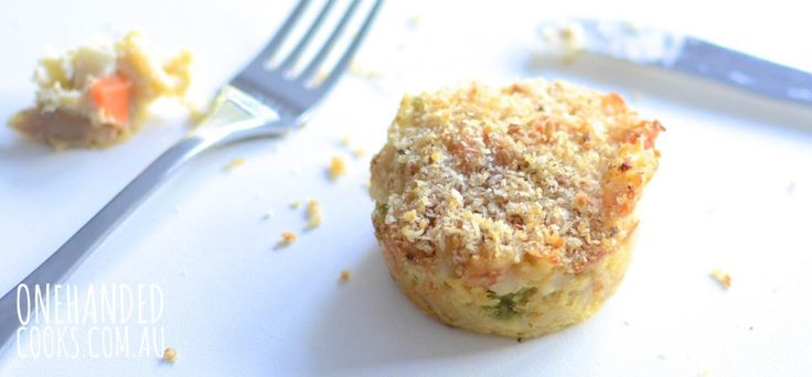 Creamy Tuna Muffins - One Handed Cooks