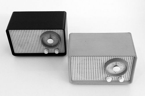 SK2 radio for Braun by Rams.