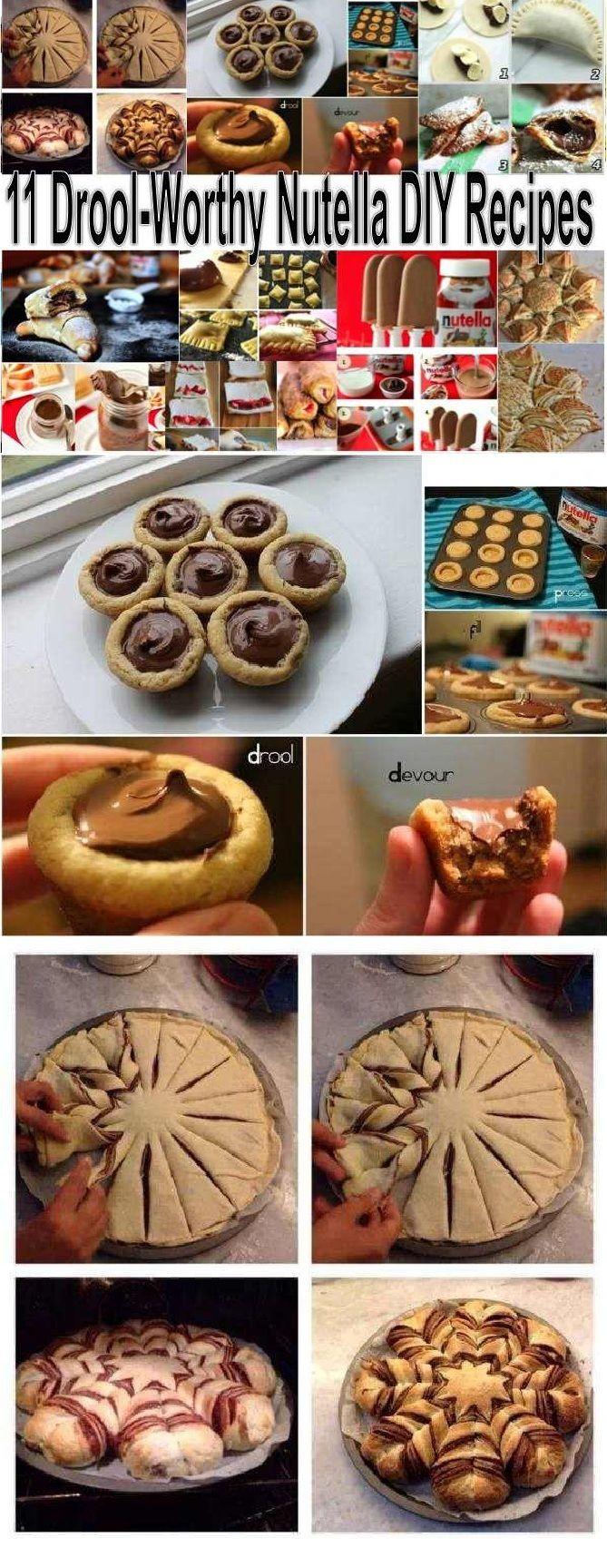 11 Drool-Worthy Nutella DIY Recipes