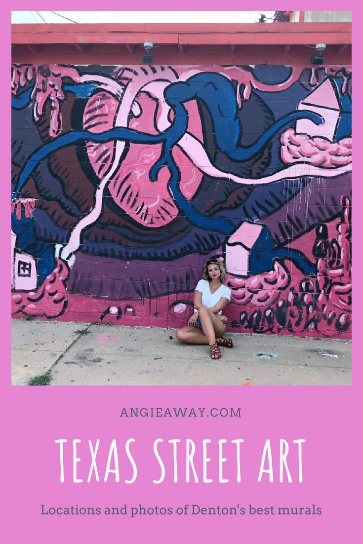 The Ultimate Mural Guide To Denton Texas Denton Texas Street
