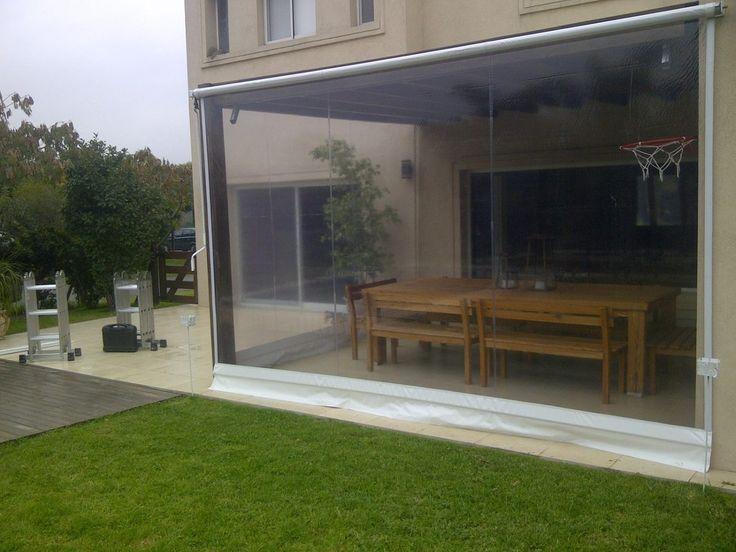 Cerramiento de galeria quinchos toldos 100 00 en for Jardin vertical mercadolibre