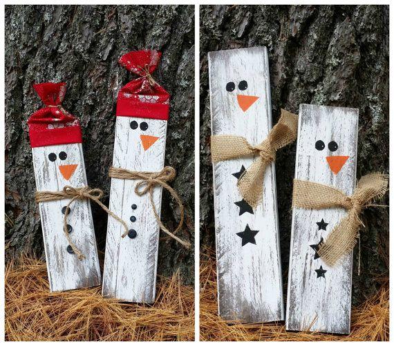 78 best ideas about wooden snowmen on pinterest pallet for How to make a wood pallet snowman