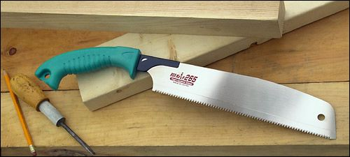 These HSS Japanese Saws are incredibly versatile--we've been using one of these in the canoe shop for all kinds of jobs.