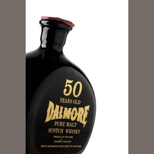 The Dalmore-50 year old-1926 Estimate: £5,000 - 7,000 at Bonhams #whisky #whiskey #dalmore #auction #investment #alternativeinvestment