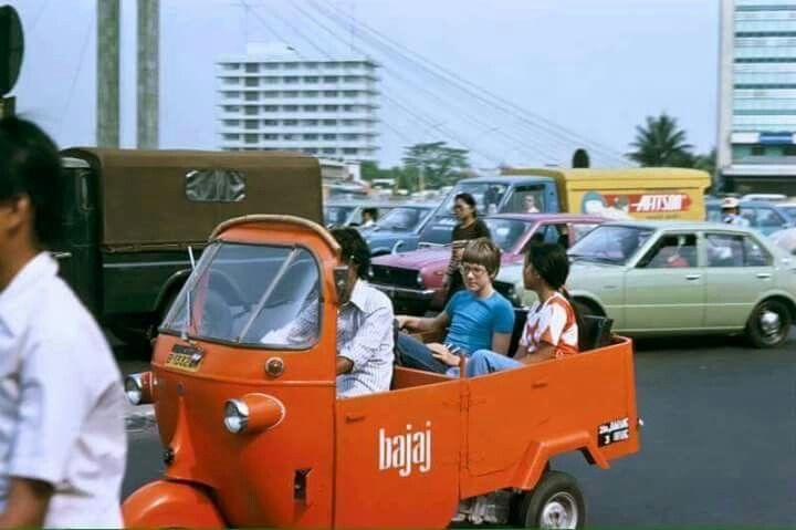 Bajaj, Jakarta 1978