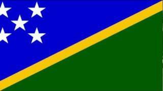 Solomon Islands National anthem Vocal, via YouTube.