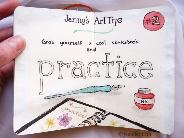 from Jenny's Sketchbook by Jenny FrithSketchbook Art, Art Journals Sketchbooks, Art Inspiration, Journals Ideas, Sketchbooks Art, Art Tips, Artsy Boards, Crafts, Jenny Sketchbooks