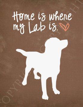 Labrador Art Print  8x10 Custom Silhouette Art by sincerelyally   My bubby Roxy! Need this!