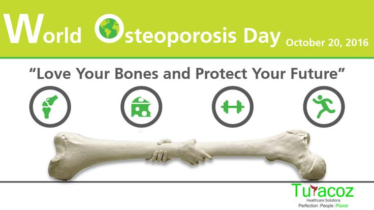 #WorldOsteoporosisDay-October 20, 2016, #TuracozHealthcareSolutions supports the cause of #HealthyBones. #Love your bones & protect your future.