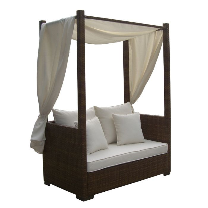 You'll love the St Barths Daybed with Cushion and Curtains at Wayfair - Great Deals on all Furniture products with Free Shipping on most stuff, even the big stuff.