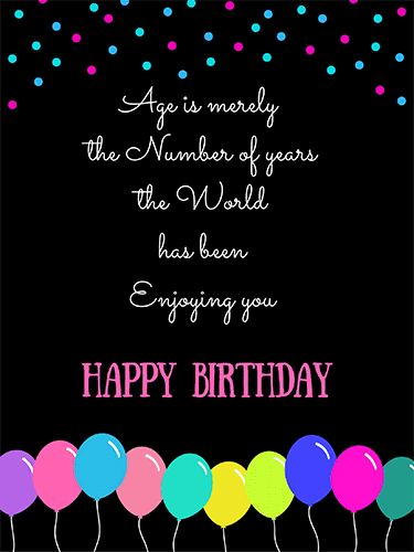 Wish You A Whole Lot Of Happiness. Free Happy Birthday eCards | 123 Greetings