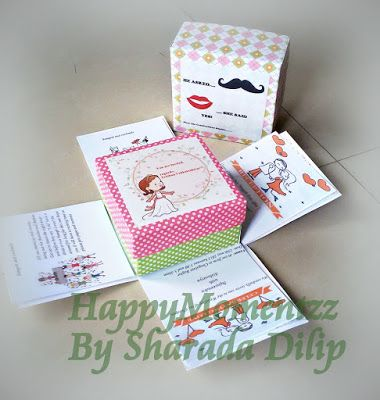 HappyMomentzz crafting by Sharada Dilip: explosion box card