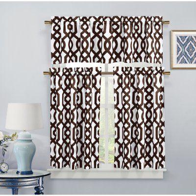 25 best ideas about Kitchen curtain sets on Pinterest
