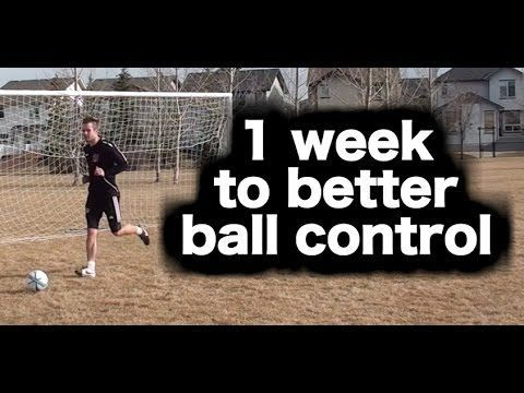 Develop noticeably better ball control and first touch in 1 week: https://www.youtube.com/watch?v=2TizVICkRTE