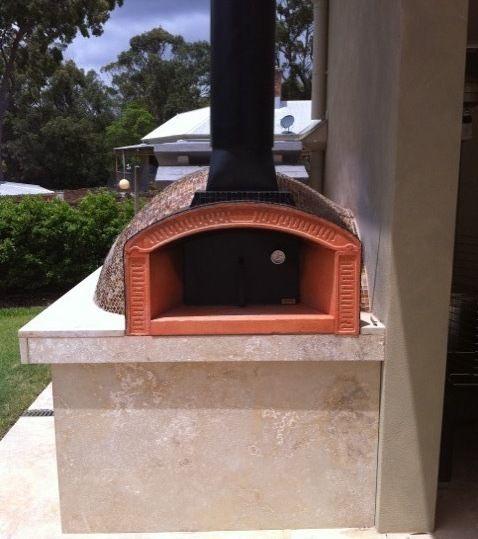 Italian Wood Fire Pizza Ovens