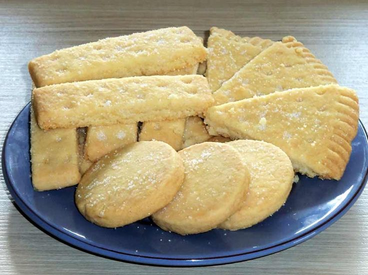 Shortbread - schottische Kekse (auf Erics Wunsch)