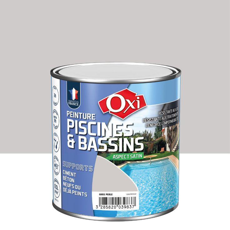 Peinture Piscine Et Bassin Exterieur Oxytol Gris 0 5 L Peinture Piscine Bassin Exterieur Bassin
