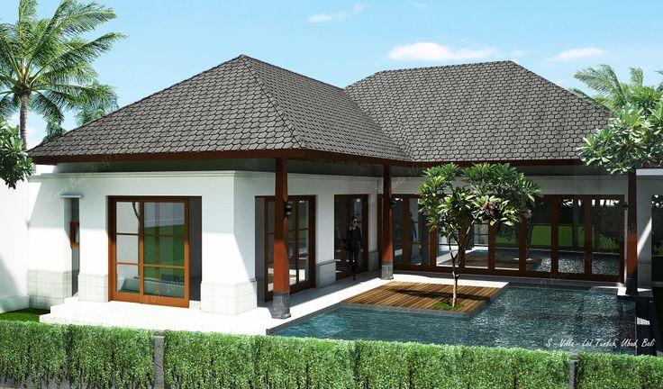 #Villa#Ubud#Bali#simple#natural