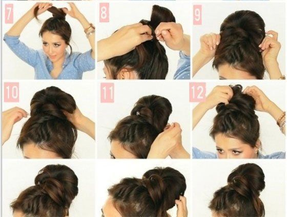 Messy Bun hacks, tips and tricks; Hairstyle ideas for lazy girls; How to do easy hairdos; Lazy girl's guide to styling hair #BeautyTricksMakeup - #g...