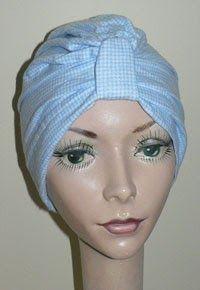He traducido la versión de turbante que hacehttp://www.headhuggers.org    N ecesitarás mas o menos 1,5 metros por turbante, dependiendo del...