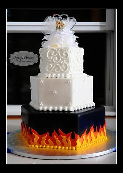 firefighter wedding cakes 97 best images about harley wedding ideas on 14265