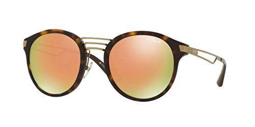 fb081d9954a51 Vogue Eyewear Womens Sunglasses TortoiseGrey Plastic NonPolarized 52mm --  Amazon most trusted e-retailer