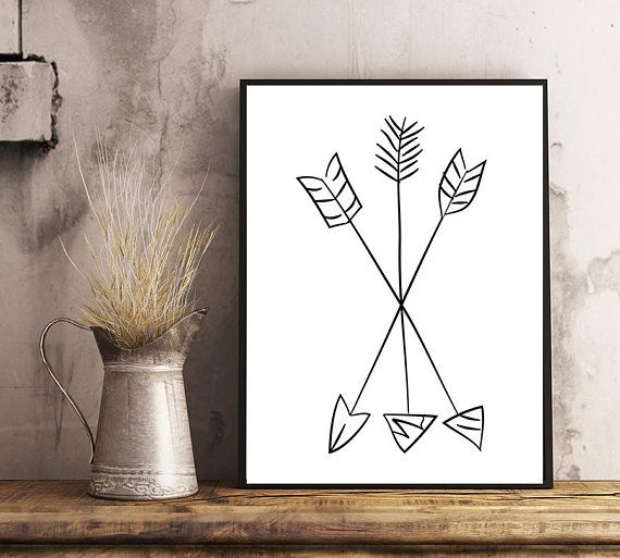 Arrows Print  Etsy store: https://www.etsy.com/listing/587718372/ Buy directly: https://www.paypal.me/LanaOriginalPrints/3usd 5x7, 8x10, 11x14, 16x20 inches. 24x36 inches and other sizes - on request. #Tribal Print, #Minimalist Print, Tribal Art, #Arrows Art, #Modern Art, Minimalist Art, #Printable Nursery Crossed Arrows Wall Art #Nursery #Print #WallArt #Etsy