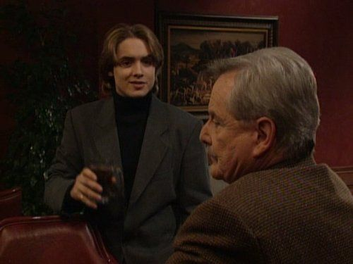 William Daniels and Will Friedle as Mr Feeny and Eric in BMW - IMDb