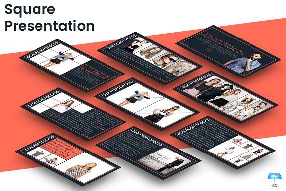 Square - Keynote Template by inspirasign on @creativemarket