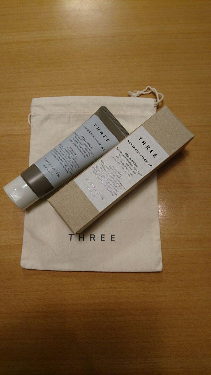 Three hand & arm cream AC  3,000JPA+tax  #three