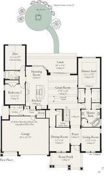 Nice Juniper 1144   Traditional   Drawings   Tampa   Arthur Rutenberg Homes Main  Floor