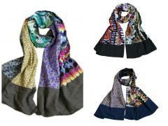 3 stuks Sjaal in multi kleuren http://www.partij-specialist.nl/