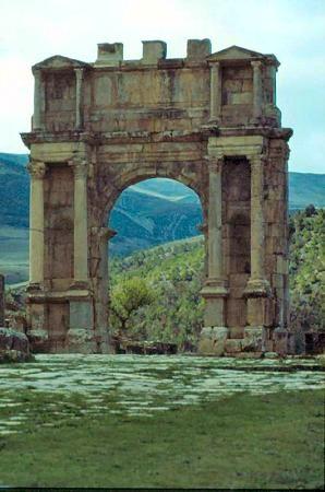 Djémila, Algeria: Great Roman ruins