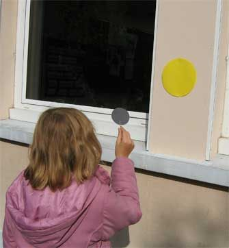 Observation d'une éclipse de Soleil | Le site de la Fondation La main à la pâte