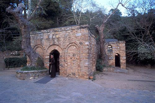 Ancient Greek Houses | Final home and shrine of Mary, mother of Christ, near Ephesus