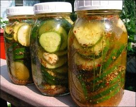 In The Raw: How To Make Icebox Pickles