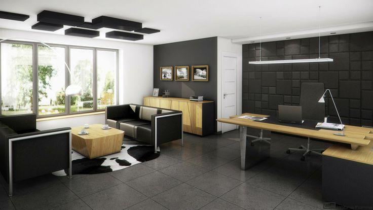 Koncepcja więcej na http://biuroweinspiracje.pl/panele-nascienne-we-wnetrzach-biurowych/